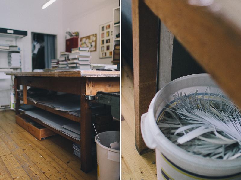 Fotoprojekt Handwerk Münster Buchbinderei